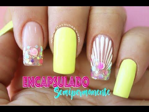 Clase #27 Encapsulado en Semipermanente ♥ Deko Uñas - Nail art thumbnail