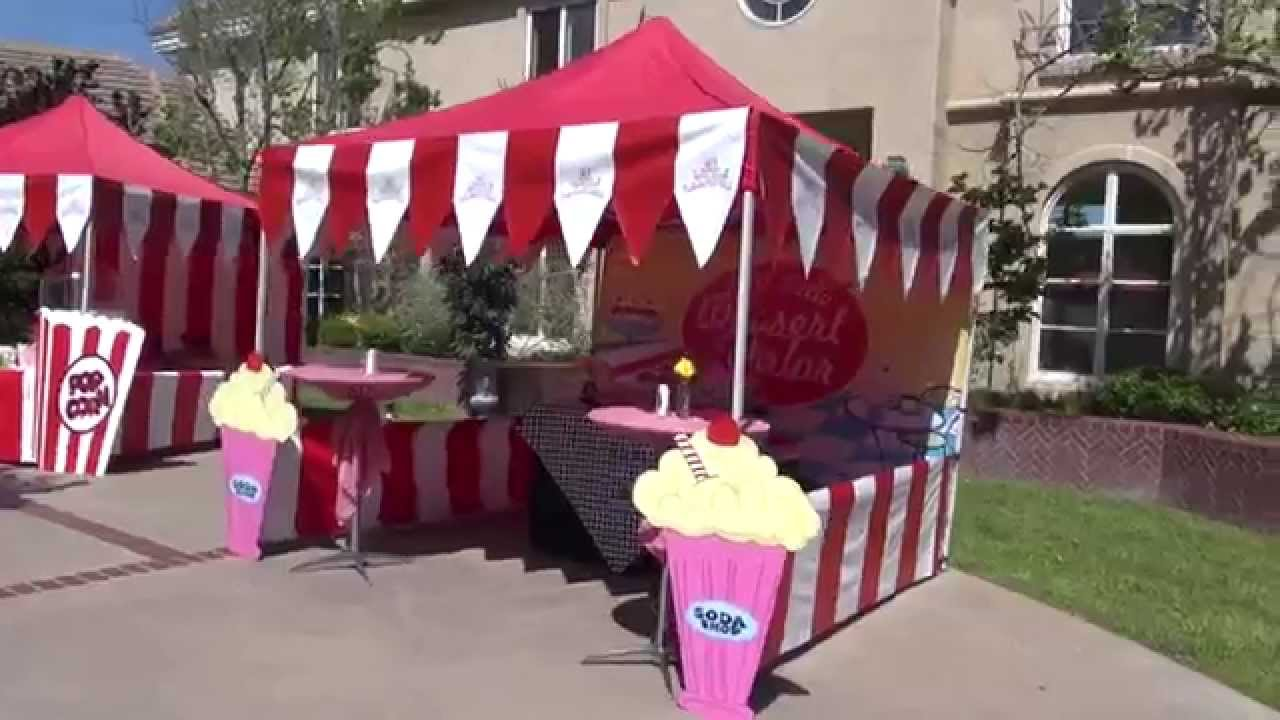 Fabulous 50s Carnival Theme Party In Los Angeles YouTube