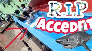 WATER SLIDE ACCIDENT | MOST CHEAPEST RESORT IN INDIA'