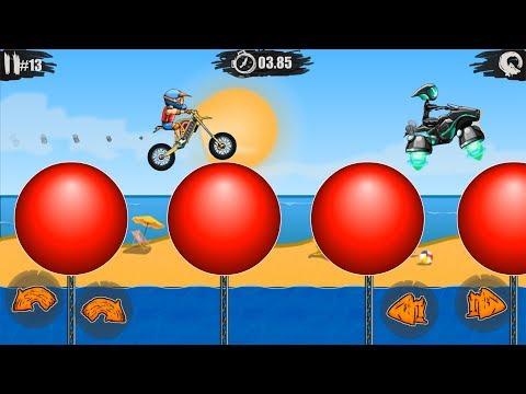 Moto X3m Bike Racing Game Cyber World Levels 1 15 G