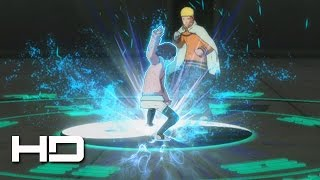 Himawari Unlocks Byakugan Eight Trigrams VS 7th Hokage Naruto | NARUTO: Ultimate Ninja STORM 4