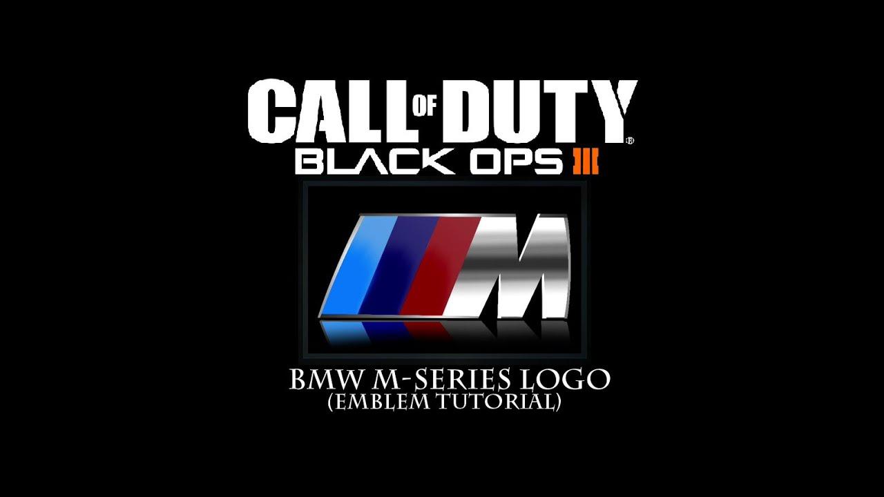 black ops 3 bmw mseries logo emblem youtube