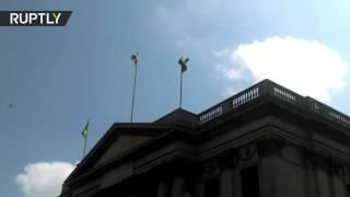 إيرلندا ترفع العلم الفلسطيني على مبنى بلدية دبلن