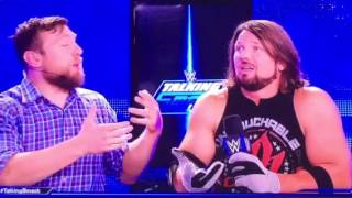 WWE Talking Smack Aj Styles Says He's Better Than CM Punk 2017