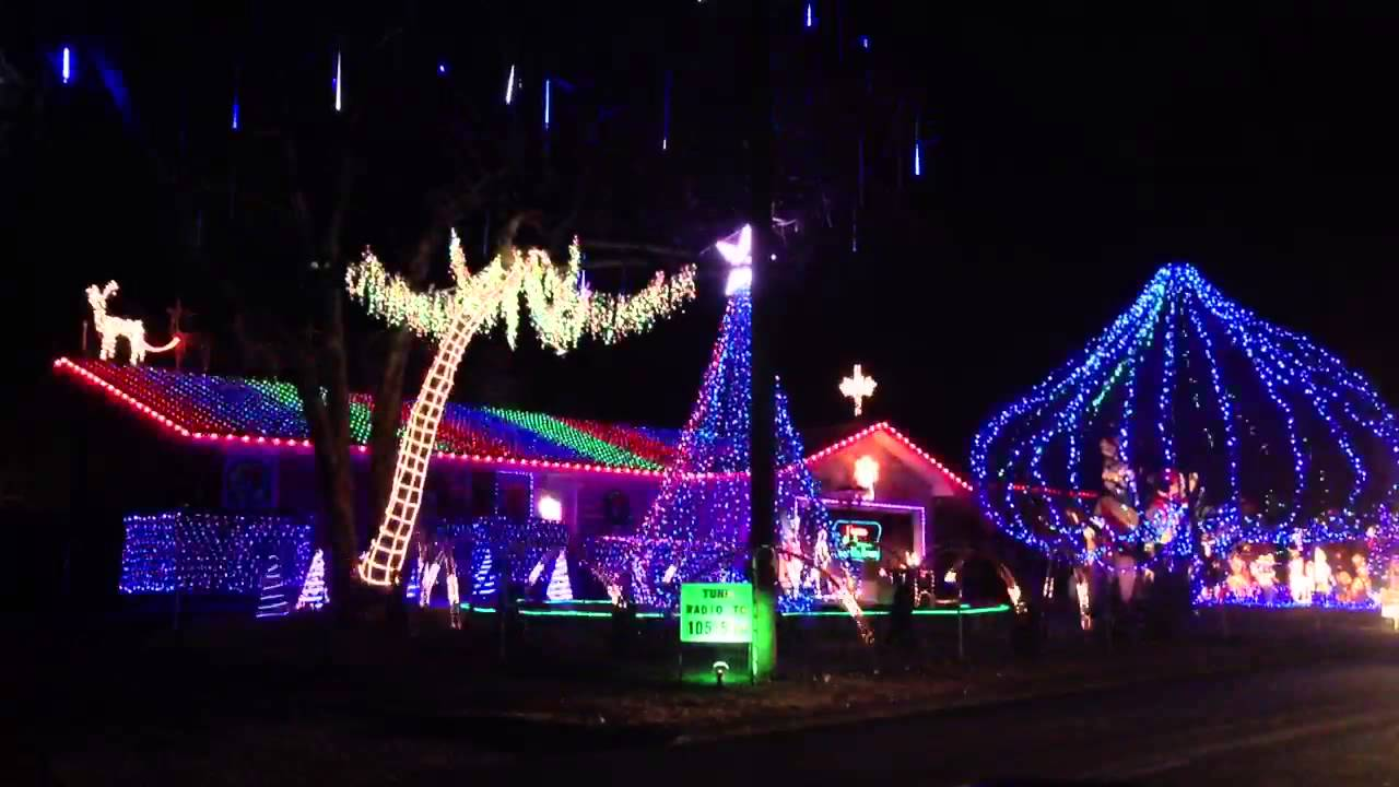 Christmas lights in Springfield, MO - YouTube