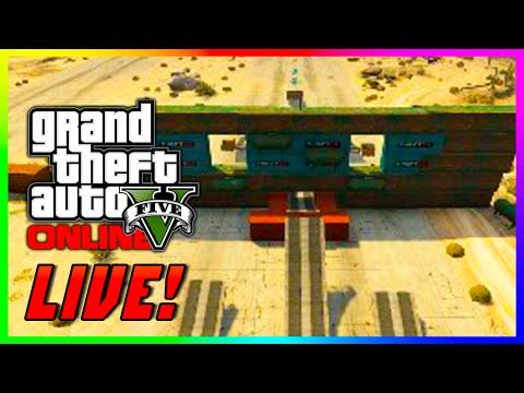 GTA 5 Online Impossible & Absolutely Crazy Custom Races LIVE! GTA 5 Epic Custom Races (GTA V)