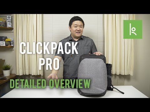The Best Anti-Theft Backpack for 2017! / ClickPack Pro | Detailed Overview