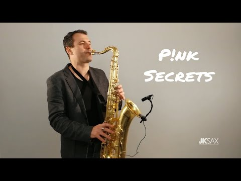 Pnk - Secrets - JK Sax Cover