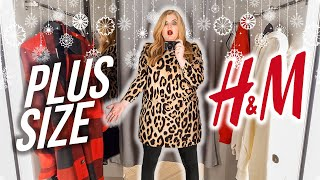 Шоппинг влог из H M Новогодние платья рубашки пуховики и домашняя одежда Plus Size