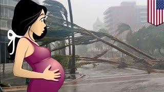 Ibu Melahirkan Sendirian Di Rumah Karena Badai - TomoNews