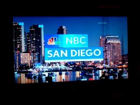 NBC San Diego (KNSD) New 6pm open 31JAN2011