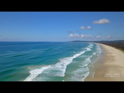 4K Byron Bay New South Wales AUSTRALIA Part 26 オーストラリア