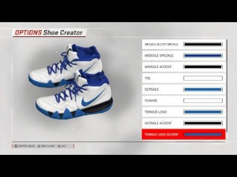 fdba19f7414 Duke PE Kyrie 4 for NBA 2K18 - YouTube