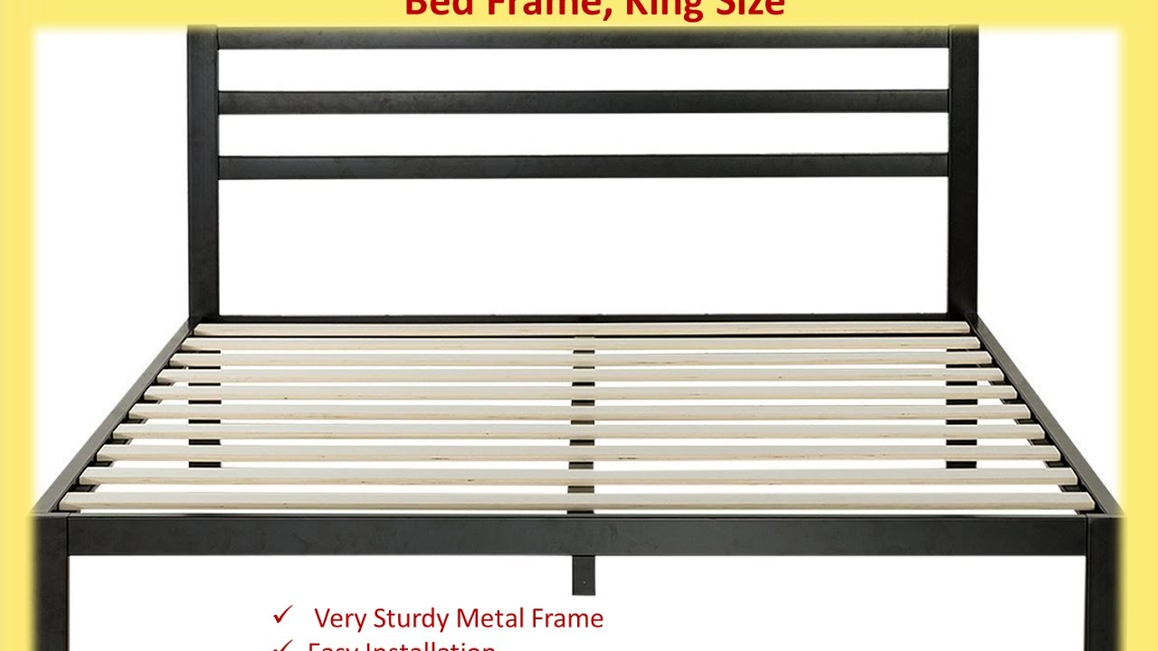 King Bed Frame  Inch
