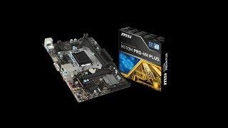 Mother MSI H110M PRO VH PLUS / placas madre para PC