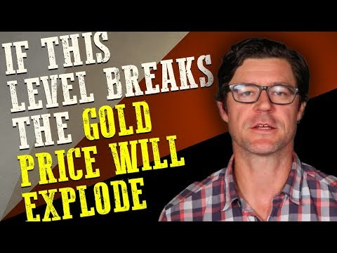 If this level breaks, the gold price will explode