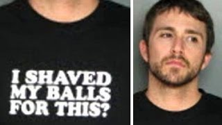8 People Who Were Arrested While Wearing Ironic T-Shirts