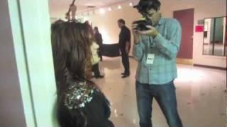 Demi Lovato - Travis Clark Prank - Unbroken - Rosemont Theatre - Chicago 2011