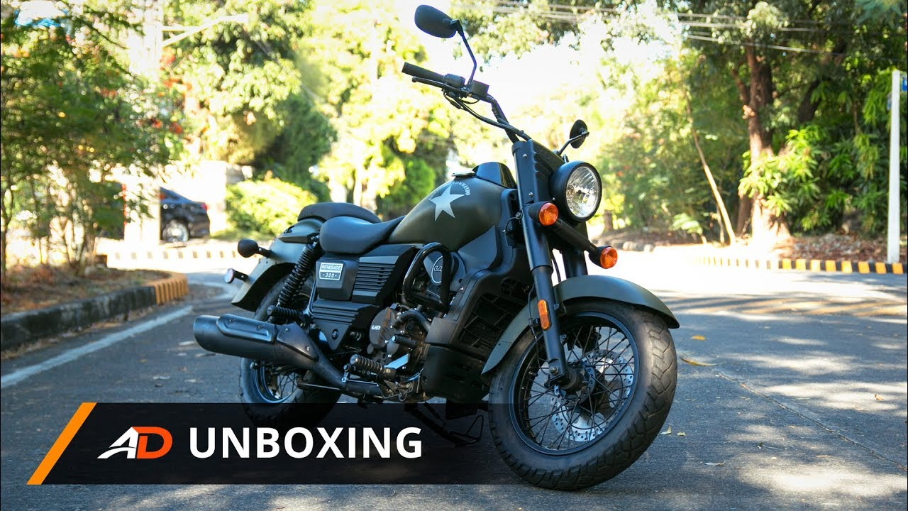 Um Renegade Commando 300 Autodeal Unboxing Youtube