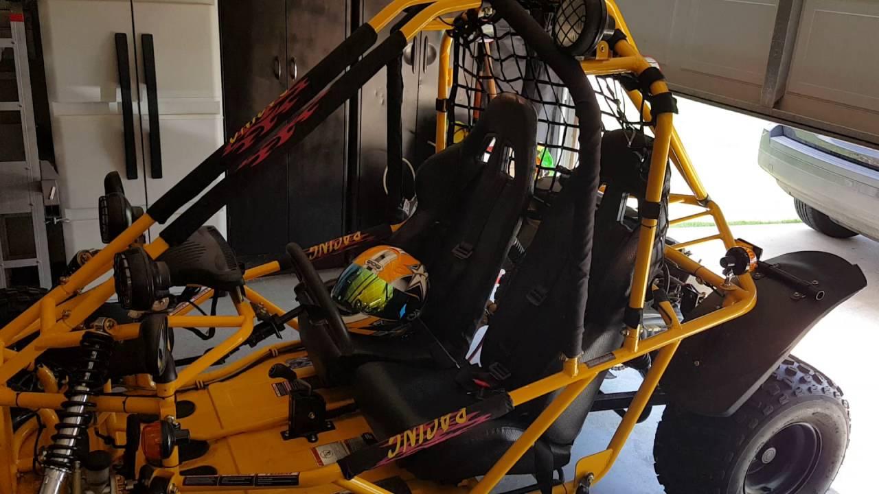 150cc Kandi Spyder Go Kart Youtube