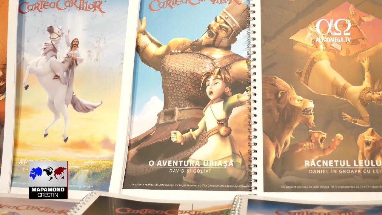 Cartea Cartilor - lectii biblice pentru scoala duminicala - reportaj AOTV