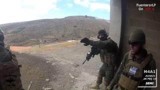 ¡En Acción! Airsoft GC 28/07/2014 Sayeret Matkal Red Spartan SAS Black Spetsnaz C.A.T