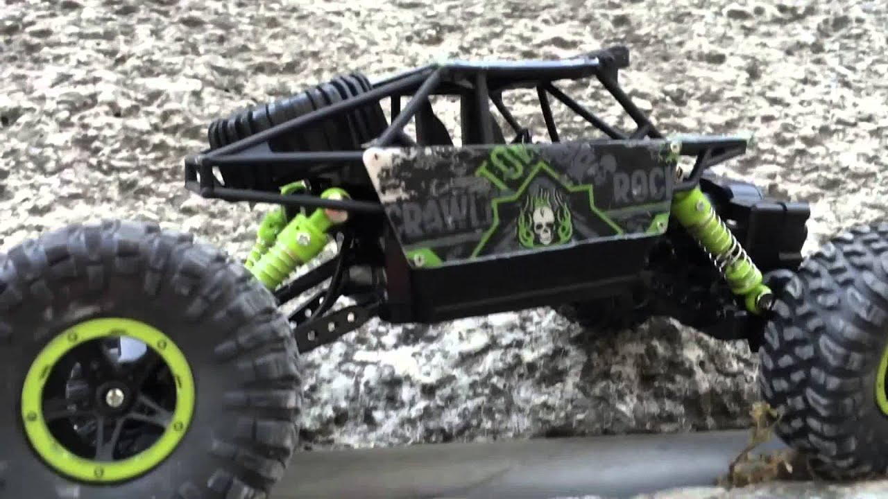 hb p1803 rock crawler test rc 1 18 youtube. Black Bedroom Furniture Sets. Home Design Ideas