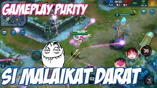 GAMEPLAY MALAIKAT DARAT PURITY - HEROES ARENA INDONESIA