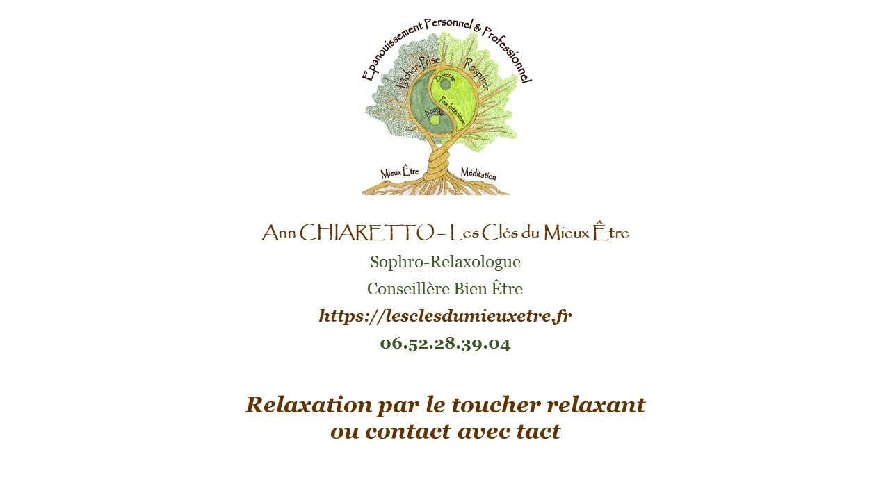 Relaxation par le Toucher Relaxant