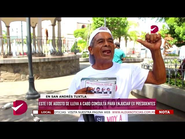 1ERO DE AGOSTO SE LLEVA A CABO CONSULTA PARA ENJUCIAR A EX PRESIDENTES