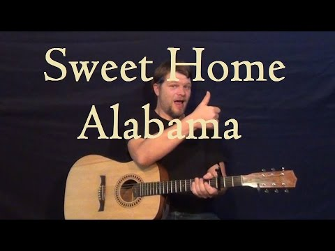 Sweet Home Alabama (LYNYRD SKYNYRD) Guitar Lesson How to Play ...