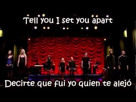 Glee - The Scientist / Sub Spanish With Lyrics