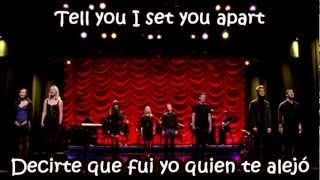 Glee - The Scientist / Sub spanish with lyrics