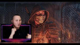 МОРТАЛ КОМБАТ ТРЕЙЛЕР РЕАКЦИЯ || Mortal Kombat - Official Trailer REACTION