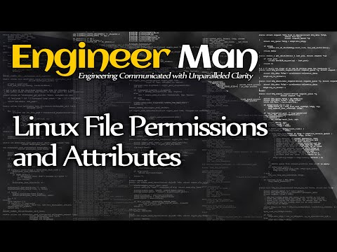 Linux File Permissions and Attributes