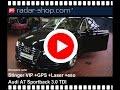 Rivelatore radar Antilaser Stinger VIP Audi A7 TDI