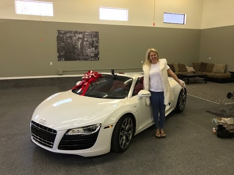 I Surprised My Mom With An Audi R8