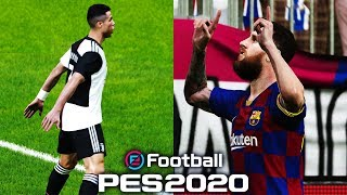 PES 2020 DEMO Online Match + First Impressions | 4K