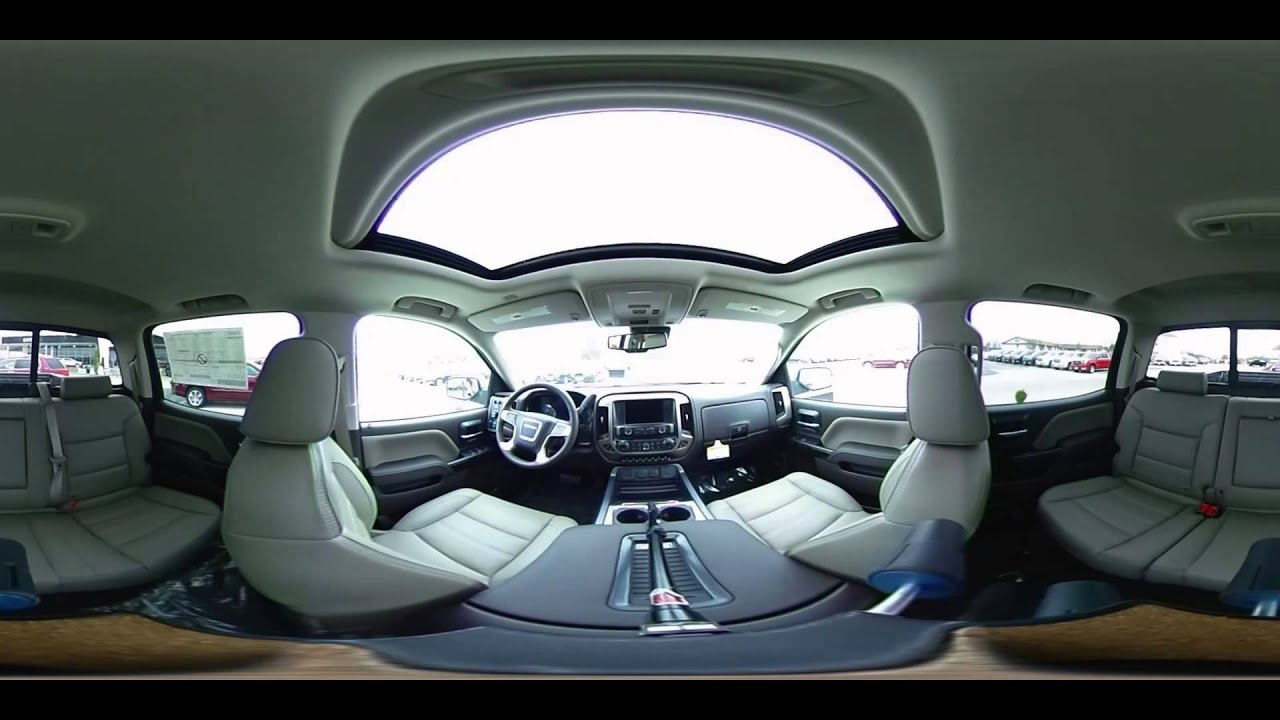 2016 GMC Sierra Denali Interior in 360 Degrees - YouTube