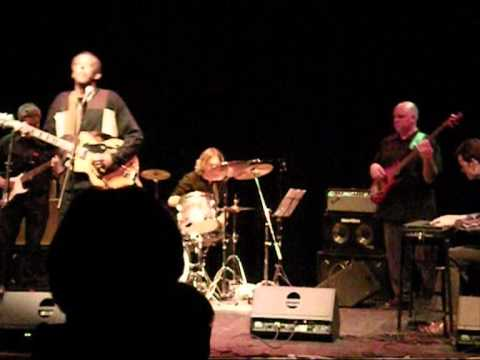 Vernon Harrington and The Dave Thomas Band at Stamford Arts .wmv