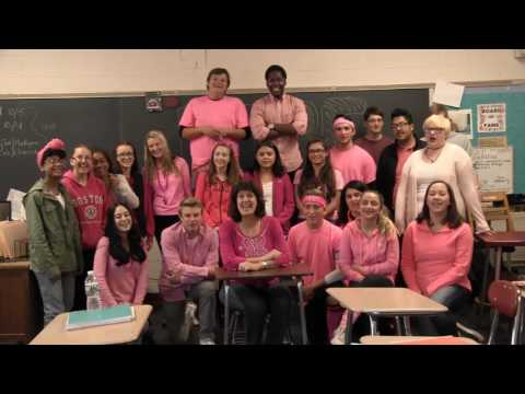Cranston High School West Pink Out 2016!!!