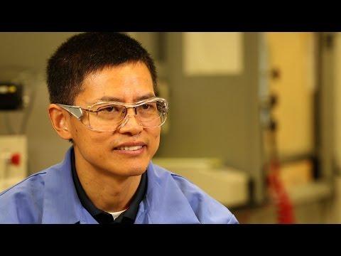 Dr. Gefei Wu, research scientist, Valvoline