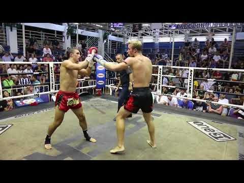 Alexey Balyko PhuketTopTeam Vs Chen AKA Thailand Muay Thai Fight 27 Sep 2017