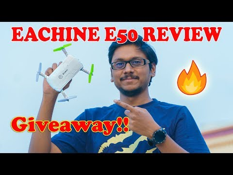 King of Selfie Drones? Eachine E50 Review & Giveaway!!