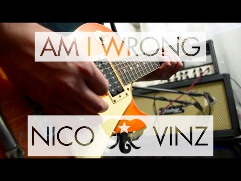 Nico & Vinz - Am I Wrong | electric guitar cover (instrumental & backing track)