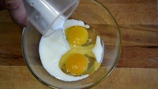 Буду готовить, пока сковорода не сломается! Быстрый ЗАВТРАК ДЛЯ ТЕХ, кому надоела яичница