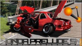 BeamNG Drive Honda Prelude SN Crash Testing #129