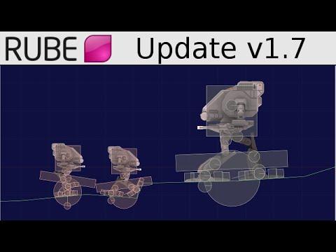 RUBE editor v1.7 updates