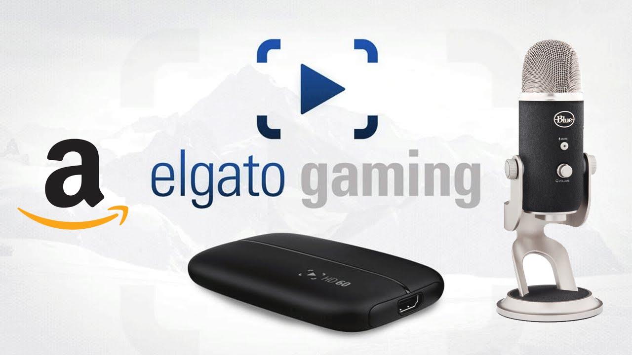 BLACK FRIDAY DEAL! Get ELGATO HD60 for $109, BLUE YETI MIC for $79! AMAZON  LIGHTNING!