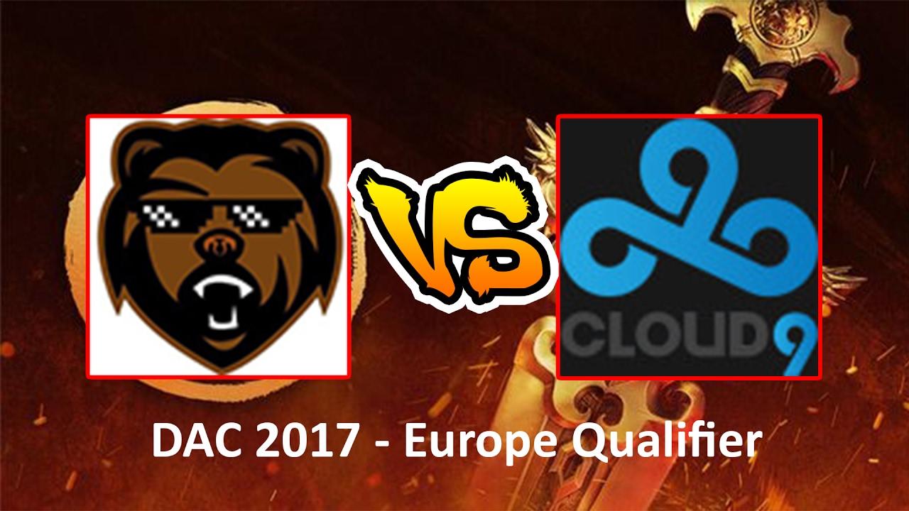 cloud 9 vs team b ears dota 2 asia championships 2017 dac
